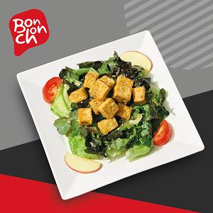 ข้อมูลโภชนาการ แคลอรี่ สลัดเต้าหู้ทอด-tofu-salad