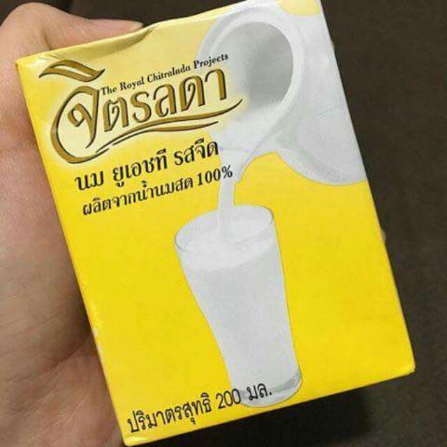 ข้อมูลโภชนาการ แคลอรี่ จิตรลดา-นมยูเอชที-รสจืด-the-royal-chtralada-project-milk-original-favoured