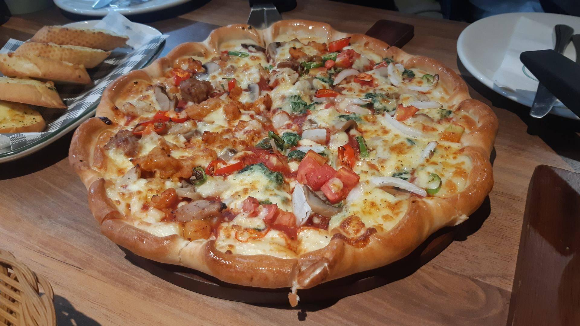 พิซซ่า-หน้าเว็จจี้-pizza-veggie