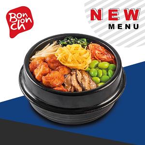 ข้อมูลโภชนาการ แคลอรี่ บิบิมบับไก่บอนชอน-crispy-chicken-bibimbap