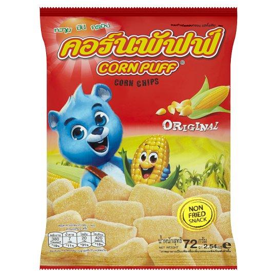 คอร์นพัฟฟ์-ข้าวโพดอบกรอบ-รสดั้งเดิม-corn-puff-natural-corn-chips-original-flavoured