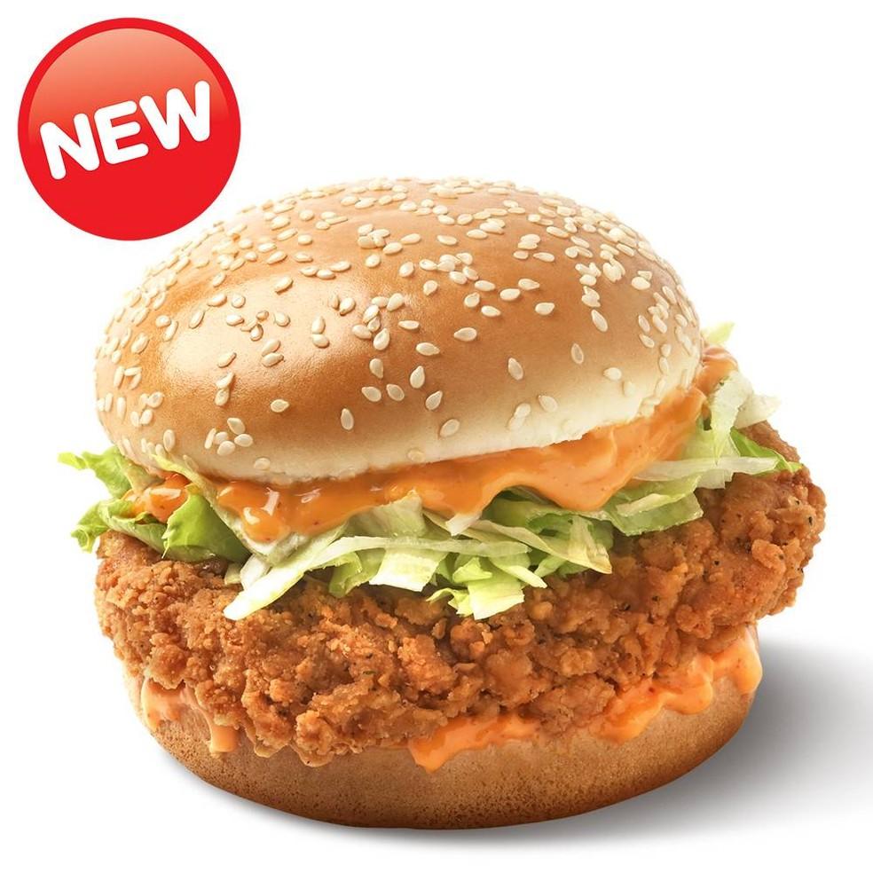 ข้อมูลโภชนาการ แคลอรี่ ซิงเกอร์เบอร์เกอร์-zinger-burger