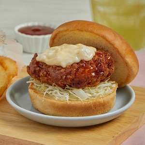 ข้อมูลโภชนาการ แคลอรี่ ชิกเก้น-บัมบัน-เบอร์เกอร์-chicken-namban-burger