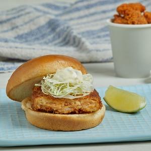 ข้อมูลโภชนาการ แคลอรี่ แซลมอนเบอร์เกอร์-salmon-katsu-burger