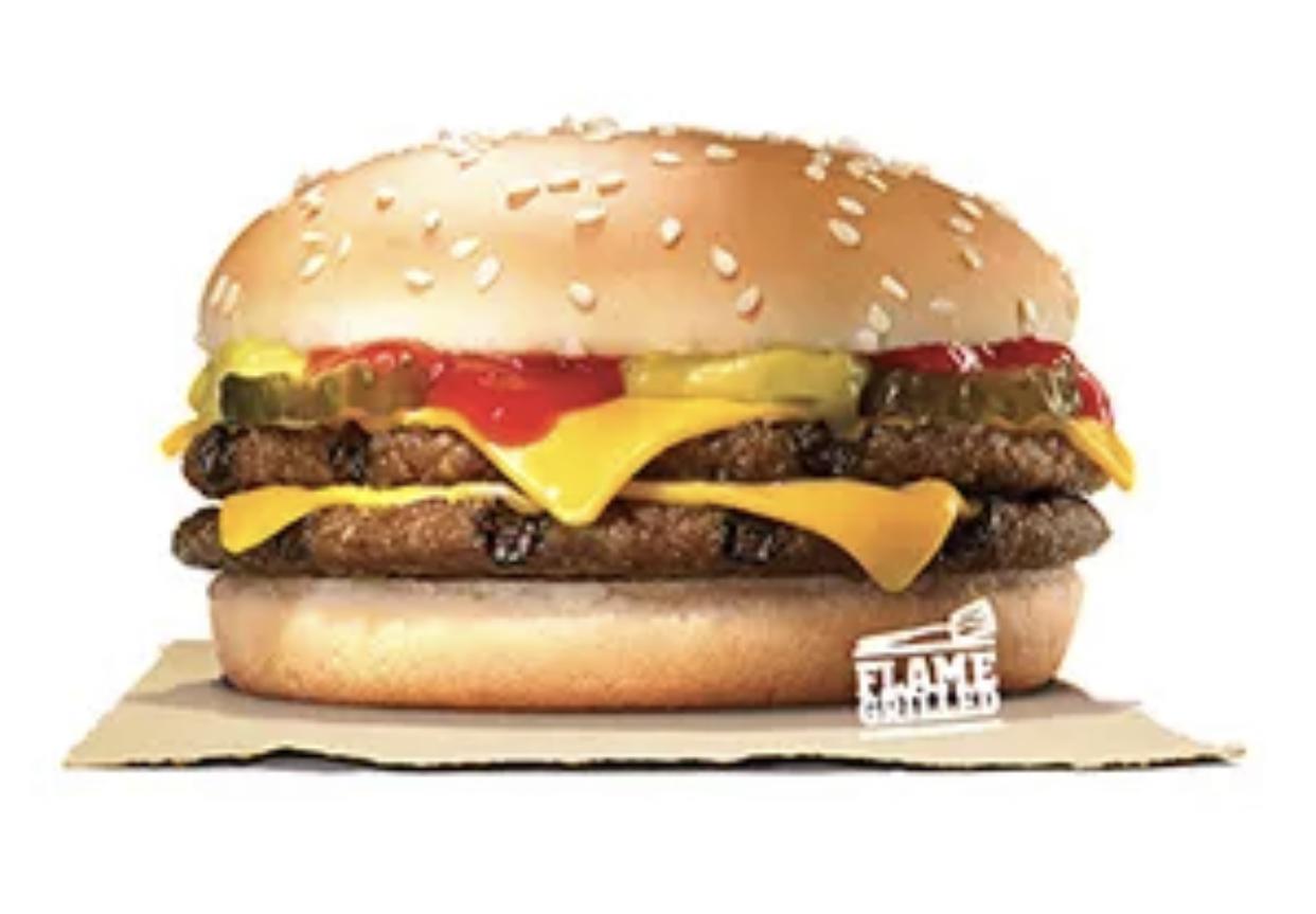 ข้อมูลโภชนาการ แคลอรี่ ดับเบิ้ลชีสเบอร์เกอร์-double-cheese-burger