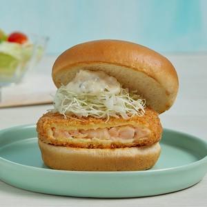 ข้อมูลโภชนาการ แคลอรี่ เบอร์เกอร์กุ้ง-shrimp-cutlet-burger
